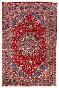 Mashad Rug 198X304 Authentic  Oriental Handknotted Crimson Red/Dark Red (Wool, Persia/Iran)