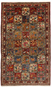 Bakhtiari Collectible Rug 155X247 Authentic  Oriental Handknotted Black/Dark Brown (Wool, Persia/Iran)