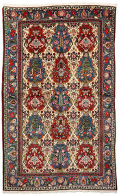Bakhtiari Collectible Rug 155X250 Authentic Oriental Handknotted Dark Brown/Beige (Wool, Persia/Iran)