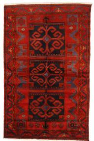 Zanjan Rug 145X228 Authentic Oriental Handknotted Dark Red/Rust Red/Dark Brown (Wool, Persia/Iran)