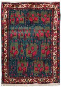 Afshar Rug 163X228 Authentic Oriental Handknotted Dark Red/Dark Blue/Dark Turquoise (Wool, Persia/Iran)