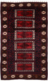 Lori Rug 160X283 Authentic Oriental Handknotted Dark Red (Wool, Persia/Iran)