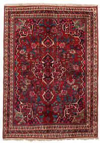 Bidjar Rug 155X209 Authentic Oriental Handknotted Dark Red/Dark Brown (Wool, Persia/Iran)