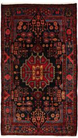 Nahavand Rug 155X270 Authentic  Oriental Handknotted Dark Red (Wool, Persia/Iran)