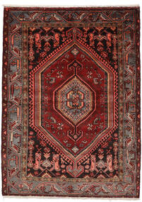 Zanjan Rug 146X200 Authentic Oriental Handknotted Dark Red (Wool, Persia/Iran)