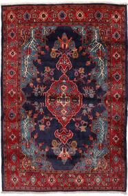 Mahal Rug 162X240 Authentic  Oriental Handknotted Dark Red/Dark Purple (Wool, Persia/Iran)