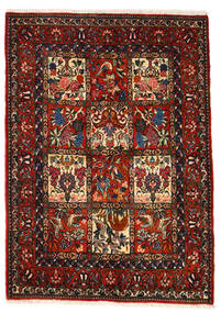 Bakhtiari Collectible Rug 106X150 Authentic  Oriental Handknotted Dark Brown/Dark Red (Wool, Persia/Iran)