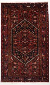 Zanjan Rug 125X205 Authentic Oriental Handknotted Dark Brown/Dark Red (Wool, Persia/Iran)