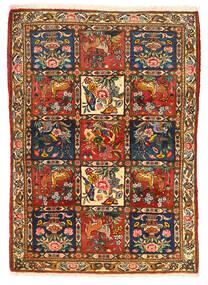 Bakhtiari Collectible Rug 115X155 Authentic  Oriental Handknotted Dark Brown/Crimson Red (Wool, Persia/Iran)