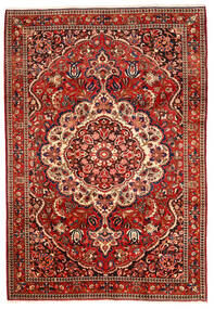 Bakhtiari Collectible Rug 220X320 Authentic  Oriental Handknotted Dark Red/Rust Red (Wool, Persia/Iran)