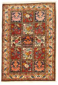 Bakhtiari Collectible Rug 108X155 Authentic  Oriental Handknotted Dark Brown/Crimson Red (Wool, Persia/Iran)