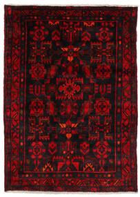 Nahavand Rug 123X174 Authentic Oriental Handknotted Dark Brown/Dark Red (Wool, Persia/Iran)