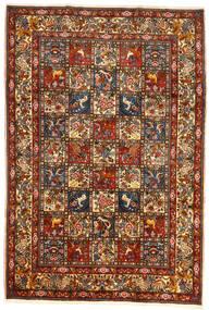 Bakhtiari Collectible Rug 209X304 Authentic  Oriental Handknotted Dark Red/Dark Grey (Wool, Persia/Iran)