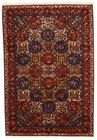 Bakhtiari Collectible Rug 210X310 Authentic Oriental Handknotted Dark Red/Black (Wool, Persia/Iran)