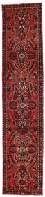 Mehraban Rug 81X392 Authentic  Oriental Handknotted Hallway Runner  Dark Red/Dark Brown (Wool, Persia/Iran)