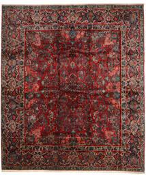 Sarouk Rug 420X485 Authentic  Oriental Handknotted Dark Red/Dark Brown Large (Wool, Persia/Iran)