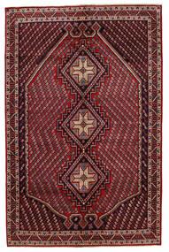 Afshar/Sirjan Rug 149X228 Authentic  Oriental Handknotted Dark Red/Dark Grey (Wool, Persia/Iran)