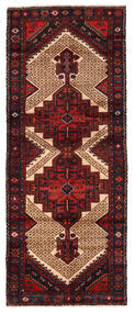 Hamadan Rug 99X246 Authentic  Oriental Handknotted Hallway Runner  (Wool, Persia/Iran)
