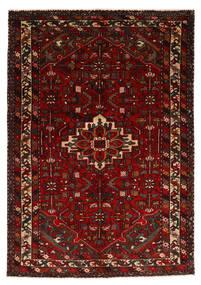Hosseinabad Rug 143X207 Authentic  Oriental Handknotted Dark Red (Wool, Persia/Iran)
