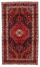 Hamadan Rug 115X199 Authentic  Oriental Handknotted Dark Red/Dark Brown (Wool, Persia/Iran)