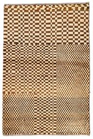 Moroccan Berber - Afghanistan Rug 92X140 Authentic  Modern Handknotted Dark Beige/Beige (Wool, Afghanistan)