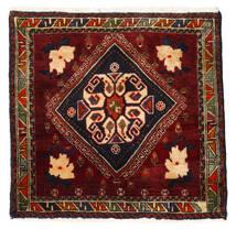 Qashqai Rug 56X58 Authentic  Oriental Handknotted Square Dark Red (Wool, Persia/Iran)