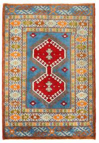 Turkaman Rug 57X60 Authentic  Oriental Handknotted Square Dark Grey/Dark Beige (Wool, Persia/Iran)
