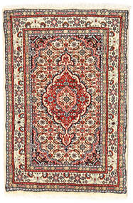 Moud Rug 56X86 Authentic  Oriental Handknotted (Wool/Silk, Persia/Iran)