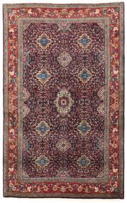 Bidjar Rug 134X209 Authentic Oriental Handknotted Dark Purple/Dark Red (Wool, Persia/Iran)