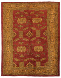 Oriental Overdyed Rug 144X183 Authentic Modern Handknotted Dark Brown/Dark Red (Wool, Persia/Iran)