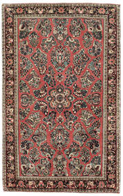 Sarouk American Rug 122X198 Authentic Oriental Handknotted Light Grey/Brown (Wool, India)
