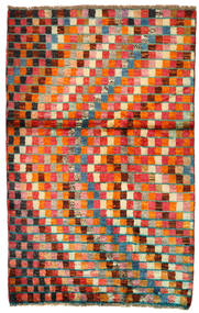 Moroccan Berber - Afghanistan Rug 86X134 Authentic  Modern Handknotted Crimson Red/Orange (Wool, Afghanistan)