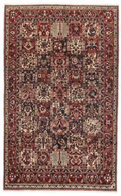 Bakhtiari Rug 162X260 Authentic Oriental Handknotted Dark Red/Black (Wool, Persia/Iran)