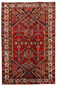 Rudbar Rug 130X200 Authentic  Oriental Handknotted Dark Red/Rust Red (Wool, Persia/Iran)