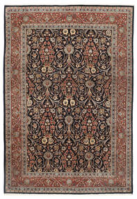 Sarouk Rug 251X353 Authentic  Oriental Handknotted Light Grey/Light Brown Large (Wool, Persia/Iran)