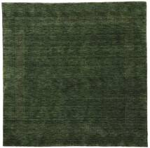Handloom Gabba - Forest Green Rug 200X200 Modern Square Dark Green (Wool, India)