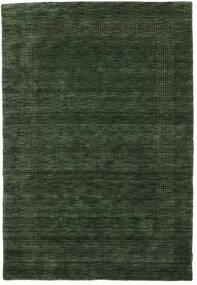 Handloom Gabba - Forest Green Rug 140X200 Modern Dark Green (Wool, India)