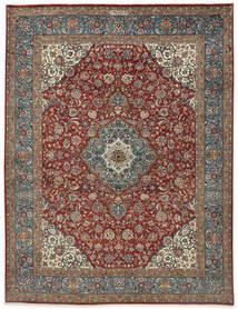 Sarouk Sherkat Farsh Rug 250X325 Authentic  Oriental Handknotted Light Grey/Dark Grey Large (Wool, Persia/Iran)