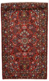 Lillian Rug 78X128 Authentic Oriental Handknotted Dark Red/Black (Wool, Persia/Iran)