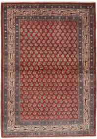 Sarouk Mir Rug 106X158 Authentic Oriental Handknotted Dark Brown/Black (Wool, Persia/Iran)