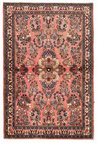 Sarouk Rug 102X155 Authentic  Oriental Handknotted Dark Brown/Light Brown (Wool, Persia/Iran)