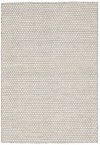 Kilim Honey Comb - Cream/Black Rug 160X230 Authentic  Modern Handwoven Beige/Light Grey (Wool, India)