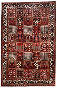 Bakhtiari Rug 207X315 Authentic  Oriental Handknotted Dark Red/Black (Wool, Persia/Iran)