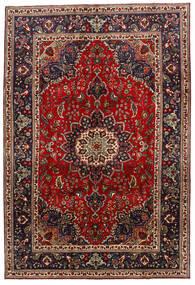 Tabriz Rug 208X306 Authentic  Oriental Handknotted Dark Brown/Dark Red (Wool, Persia/Iran)