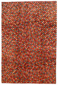 Moroccan Berber - Afghanistan Rug 192X286 Authentic  Modern Handknotted Rust Red/Crimson Red (Wool, Afghanistan)
