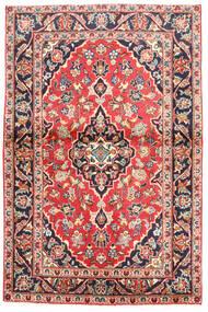 Keshan Rug 97X160 Authentic Oriental Handknotted Black/Beige (Wool, Persia/Iran)