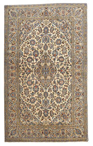 Keshan Rug 128X210 Authentic  Oriental Handknotted Beige/Dark Grey (Wool, Persia/Iran)
