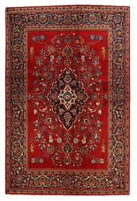 Keshan Rug 138X210 Authentic  Oriental Handknotted Rust Red/Dark Brown (Wool, Persia/Iran)