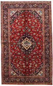 Keshan Rug 149X245 Authentic  Oriental Handknotted Dark Red/Dark Brown (Wool, Persia/Iran)