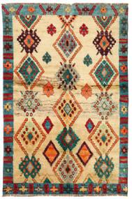 Moroccan Berber - Afghanistan Rug 114X183 Authentic  Modern Handknotted Dark Beige/Beige (Wool, Afghanistan)